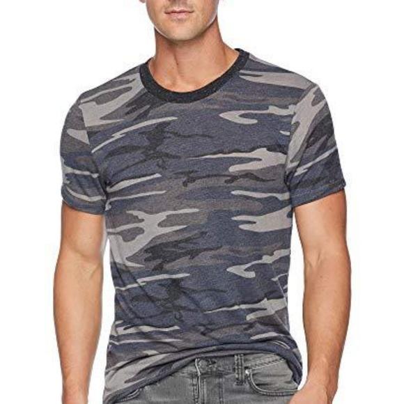 Alternative Apparel Printed Eco-Jersey Crew T-Shirt